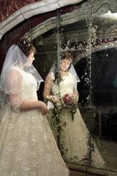 Продам свадебное платье цвета беж