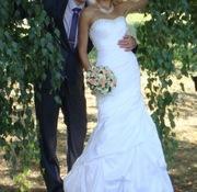 Продаю изящное свадебное платье