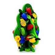 Развивающие игрушки от 6 мес из натурального дерева