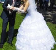 Продам шикарное и счастливое свадебное платье