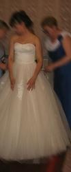 продам недорого свадебное платье