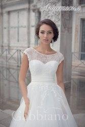 Продаю романтическое свадебное платье,  размер 40-42 (XS)