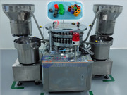 Автоматическая монтирующая машина крышки и резиновой пробки