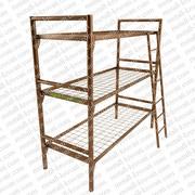 Железные двухъярусные кровати для бытовок,  кровати для общежитий,  опт