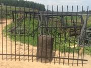 Секции заборные из прутьев